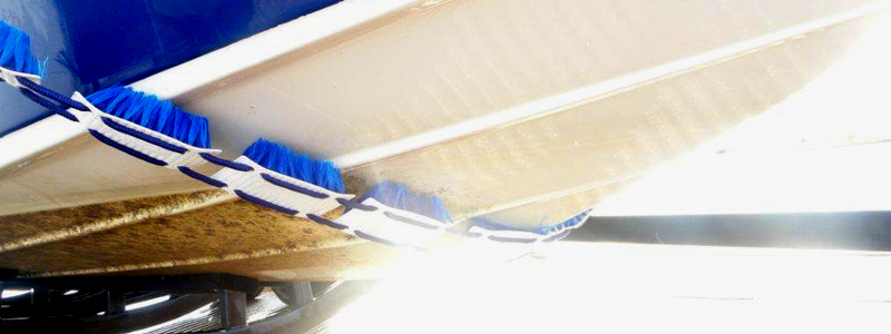 Boat Hull Cleaning System