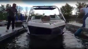 Boat Hull Cleaning Tool